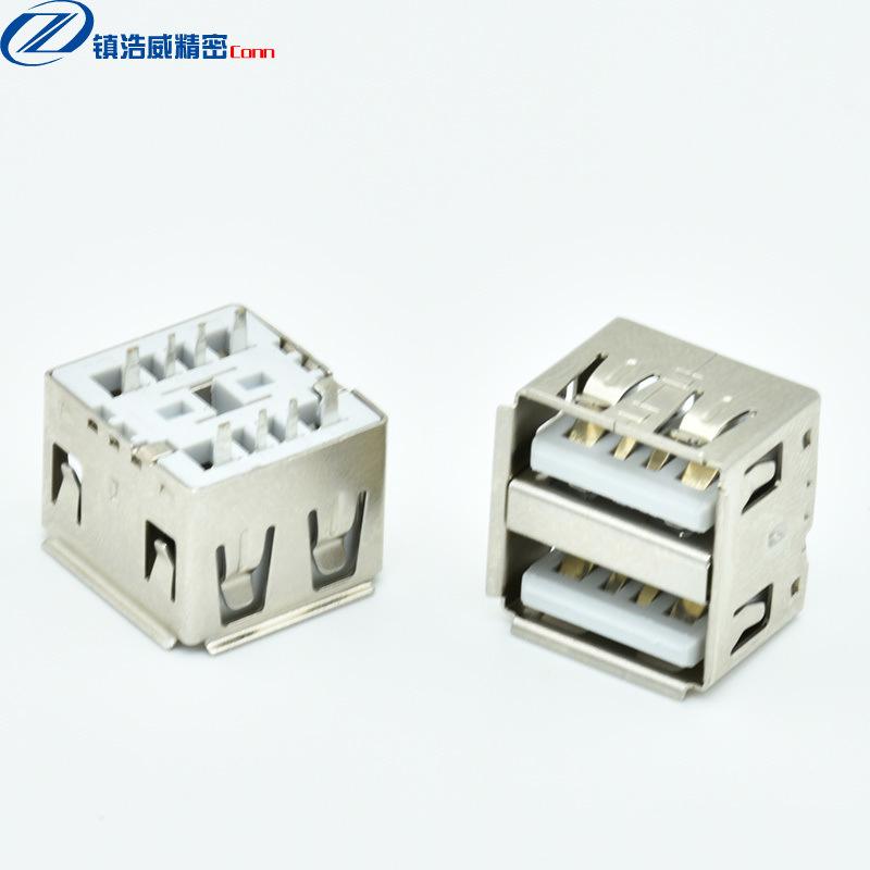 USB連接器 母座 雙層直插 大電流