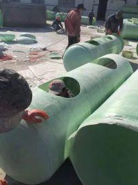 养殖场化工储罐定制玻璃钢一体化沉淀池