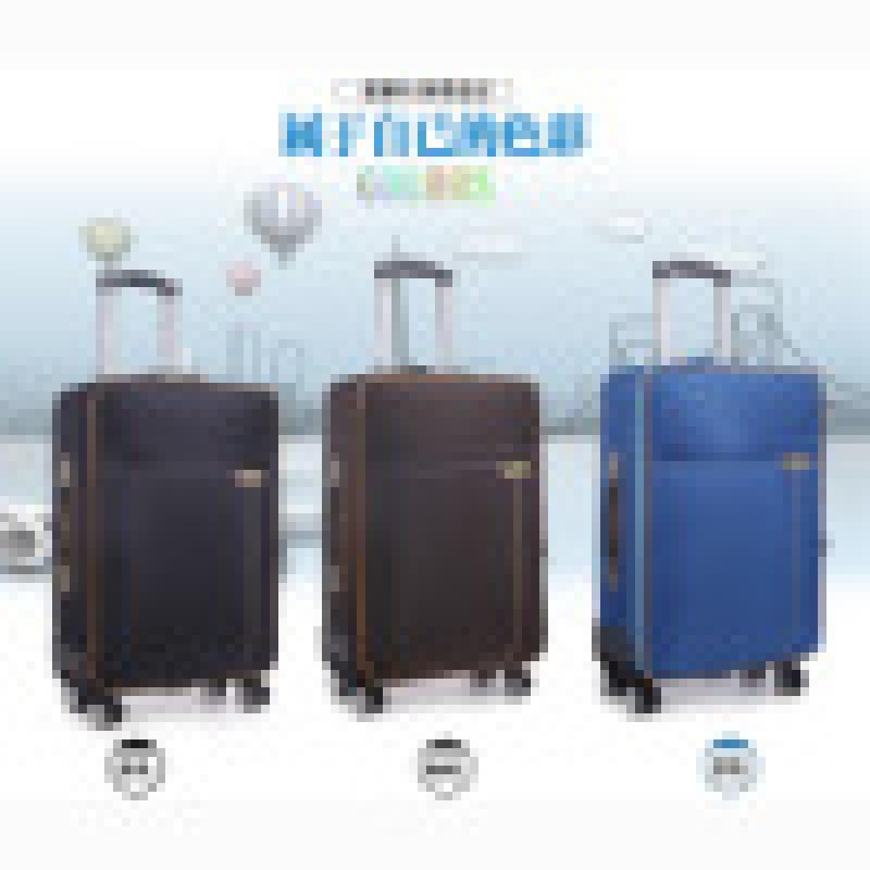 工廠直銷防水牛津布旅行2024寸行李拉桿箱一件代發