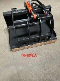 s70滑移装载机铲斗抱夹 工业铲斗 抓斗