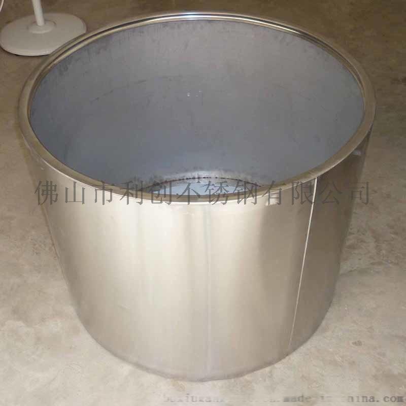 圓形戶外不鏽鋼大花盆加工定製廠家 304不鏽鋼花器