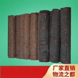 厂家直销 4mm黑心棉毛毡 混凝土保温毯