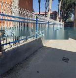 锌合金喷塑白色马路小区道路市政护栏网塑钢公路隔离护栏