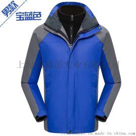 冬季户外冲锋衣加绒加厚登山服外套冲锋衣定制