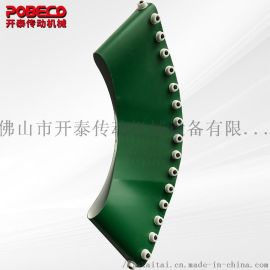PVC转弯输送带_PU输送带_工业皮带厂家