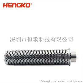 生产316L不锈钢烧结网滤芯 防水耐高温过滤器