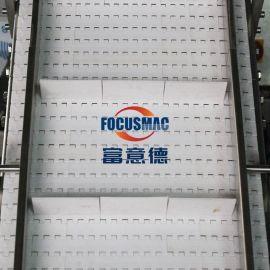 流水线传送带皮带运输机装车卸货食品输送机