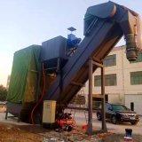 集装箱卸灰机 粉煤灰中转货站拆箱机 翻箱卸料机