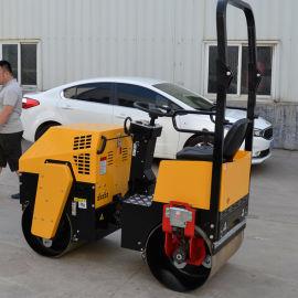 振动式手扶小型压路机 手扶柴油双钢轮小型压路机