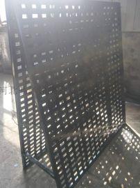 瓷砖冲孔板展架 镀锌板 斜板|双面斜板 尺寸可定制