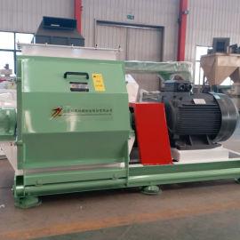 110KW高功率大型粉碎机 树枝木块秸秆粉碎机