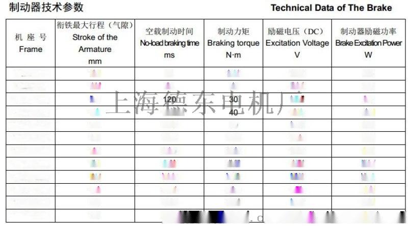 YEJ2电磁制动YEJ290S-6 0.75KW