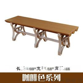 ABS塑料更衣凳浴室长条凳防潮更衣凳厂家批发