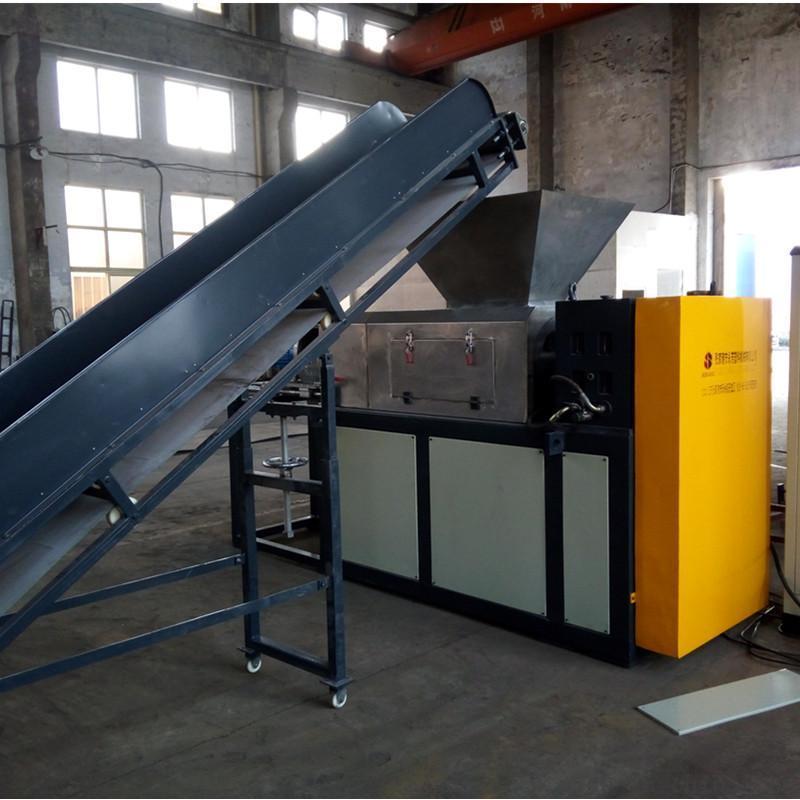 典美機械 無紡布擠幹切粒機 擠幹脫水機