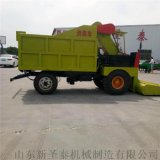 养殖机械设备清粪车 柴油四驱全自动粪便清理车