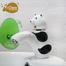 洗脸盆卡通水龙头面盆冷热幼儿园洗手盆儿童水龙头
