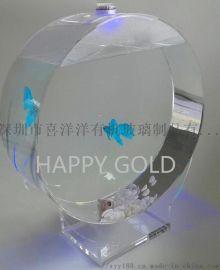 亞克力水母缸廠家直銷透明亞克力小魚缸加工定制