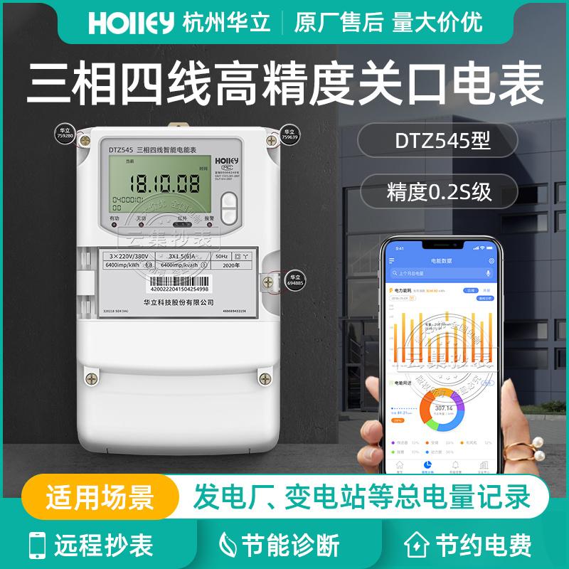 杭州華立DTZ545三相四線智慧高壓電能表0.2S級