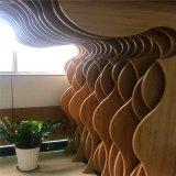 新疆背景墙造型铝方通 黑龙江波浪形金属铝方通