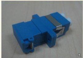 LC双芯光纤适配器  双芯耦合器  LC带翻盖光纤法兰盘
