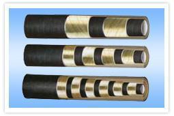 高压胶管\\高压钢丝缠绕胶管 高压钢丝编织胶管