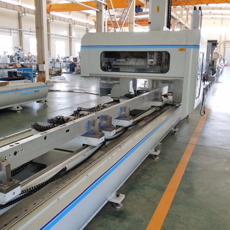 铝型材四轴数控加工中心轨道交通数控加工设备