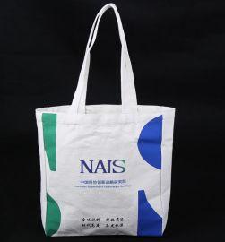 廠家定做環保棉布袋廣告促銷禮品袋手提袋可來圖印制企業LOGO