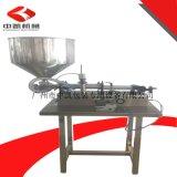 供應單(雙)頭膏體定量灌裝機、半自動灌裝機