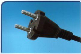 德国VDE认证二蕊插头线、电源插头线(Y002)