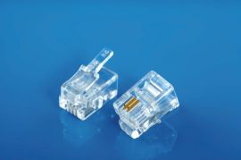 XL-101 MP4P2C电话水晶头