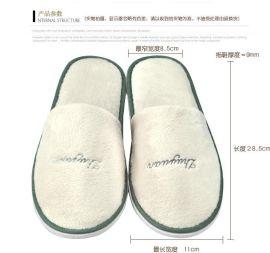 供应各种彩布料拖鞋 宾馆拖鞋 酒店一次性拖鞋 航空拖鞋