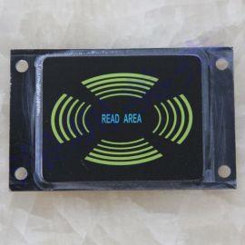 深圳美杰公司专业生产亚克力刷卡面板,停车刷卡系统面板