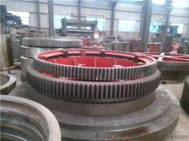 建奎机械传动HGJ-1800复合肥烘干机大齿轮