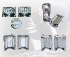 精工模具可来样来图批量生产各种不锈钢材质高品质化妆品瓶模具