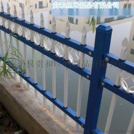 供应小区交通锌钢铁艺护栏网栅栏隔离珊欧式护栏美式护栏公园草坪护栏厂家