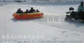 滑雪船雪地漂流艇滑雪圈滑草船水陆两用漂流艇漂流船2.2米加厚耐磨滑雪漂流船厂家