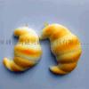 环保仿真面包pu发泡面包蛋糕馒头饺子
