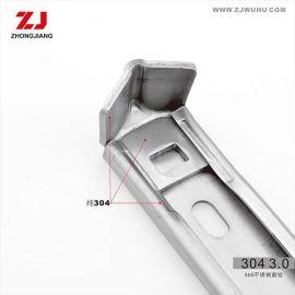 不锈钢铰链 不锈钢窗撑 ZJ忠江 12寸 2.5mm  201