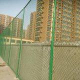 供应绿色勾花护栏网球场围栏 体育场围网可安装定制