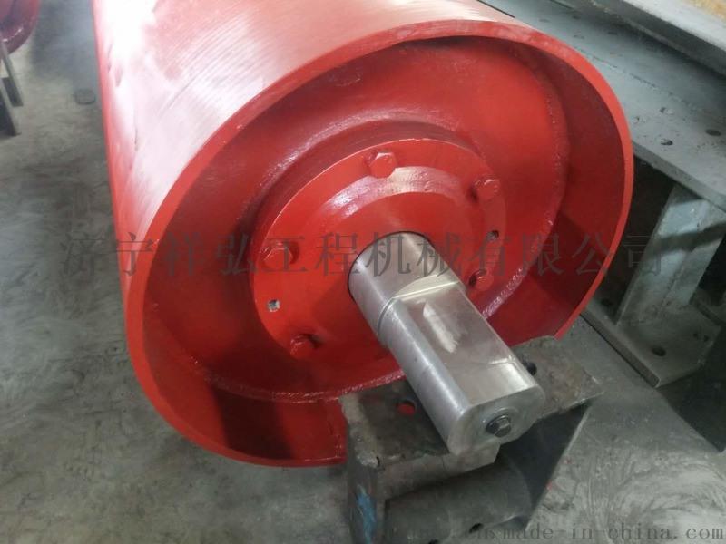 皮带机滚筒厂家定制非标的胶带机滚筒