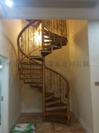 旋转楼梯 别墅旋转梯 铁艺梯