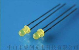 3mm黄光LED发光二极管