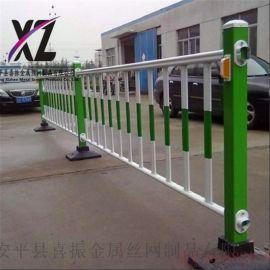 道路隔离设施护栏,锌钢道路护栏设施,锌钢市政护栏