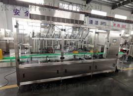 科源机械ZG系列直线油类灌装机设备生产线
