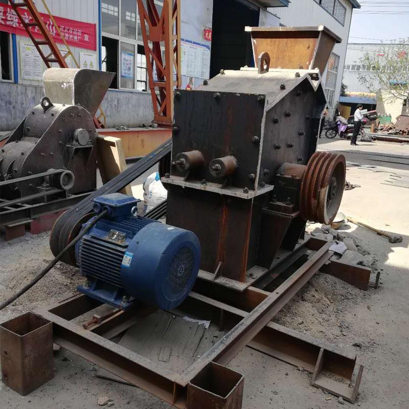 河卵石移动破碎机 冲击式制砂机 大理石细碎制砂机