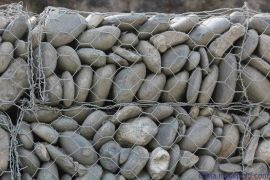 辽宁丹东生态护坡格宾网 高尔凡覆塑石笼网箱价格