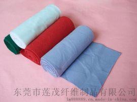 厂家供应彩色针刺无纺布 桌布用的涤纶针刺棉