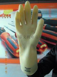 牛筋防水耐酸碱手套 特加厚 加长 橡胶工业手套 长34/40/45/60厘