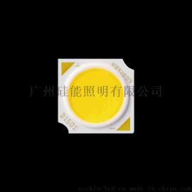 供应高密、高显、高亮、低温发光面¢11.2mm COB灯珠(硅能照明G121C系列)