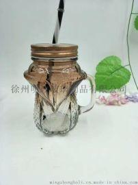 500ml玻璃瓶,木塞玻璃瓶,保健品玻璃瓶
